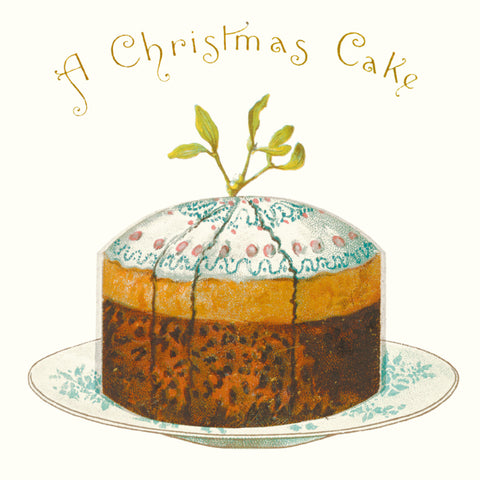 Christmas Card Pack - A Christmas Cake