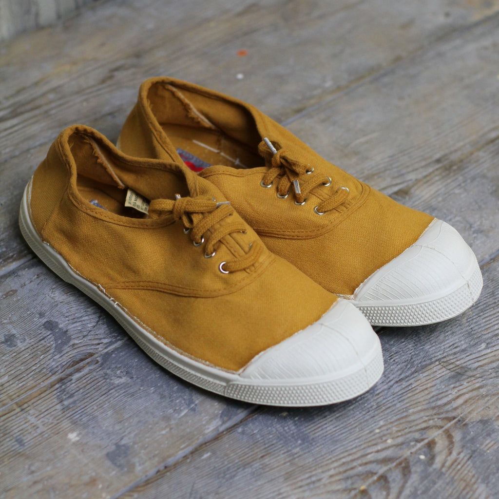 Bensimon Women's Tennis Shoes, Ochre - Closet & Botts