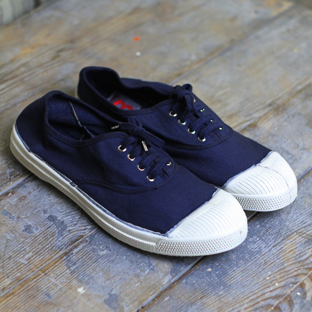 Bensimon Women's Tennis Shoes , Navy - Closet & Botts