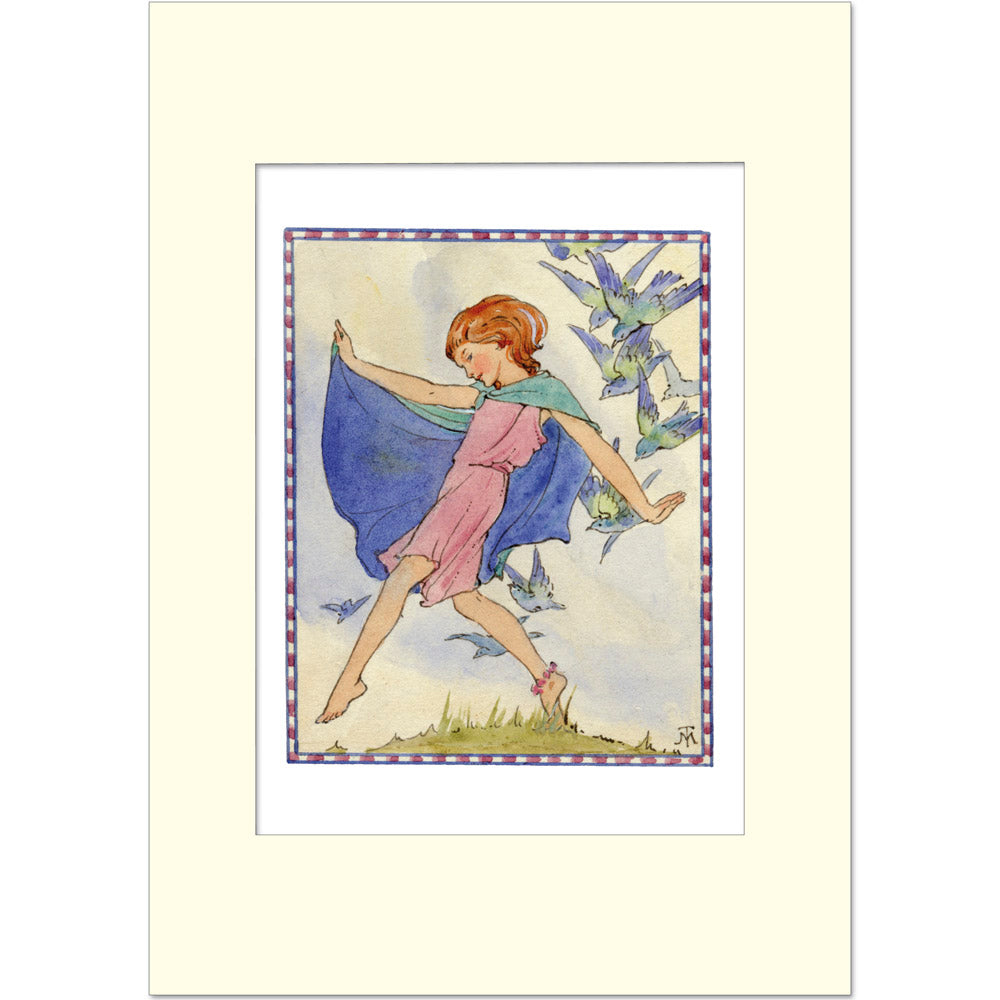Margaret Tarrant Print - Bluebirds - Homeware Store