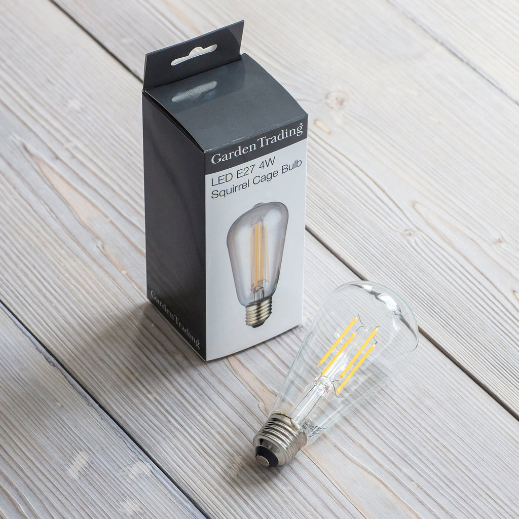 LED Squirrel Cage Light bulb - Homeware Store