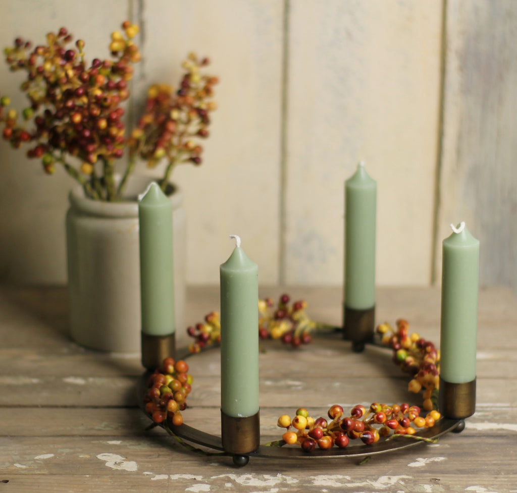 Brass Candle Ring