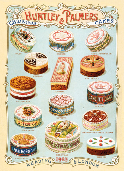 Christmas Card Pack - Christmas Cakes