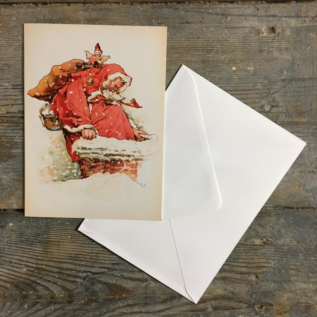 Traditional Christmas Card Pack - Father Christmas - Closet & Botts