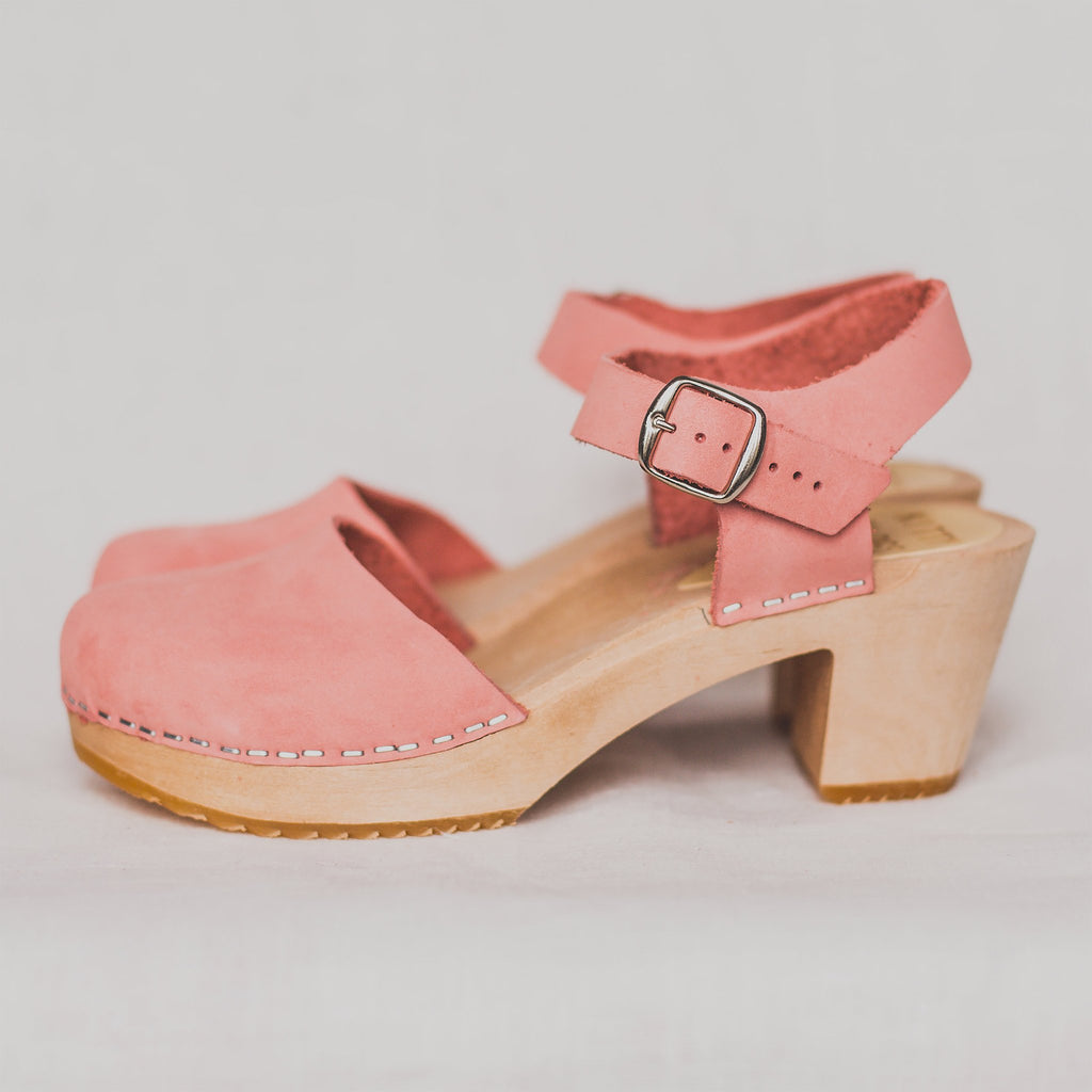 Mid Aaliyah Clog, Blush - Closet & Botts