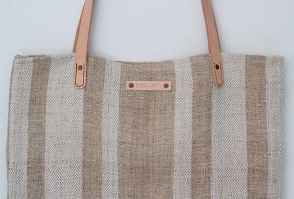 Vintage Sack Shopper