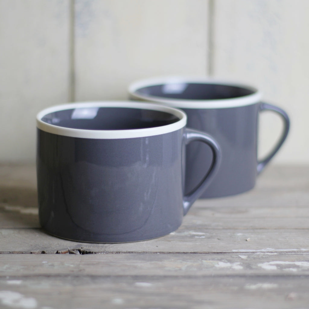Handmade Coffee Cup, Slate - Closet & Botts