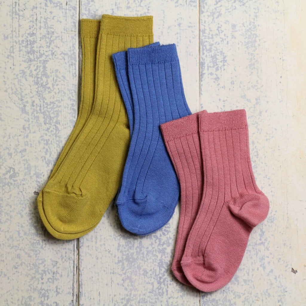 Ribbed Ankle Socks by Condor - Homeware Store