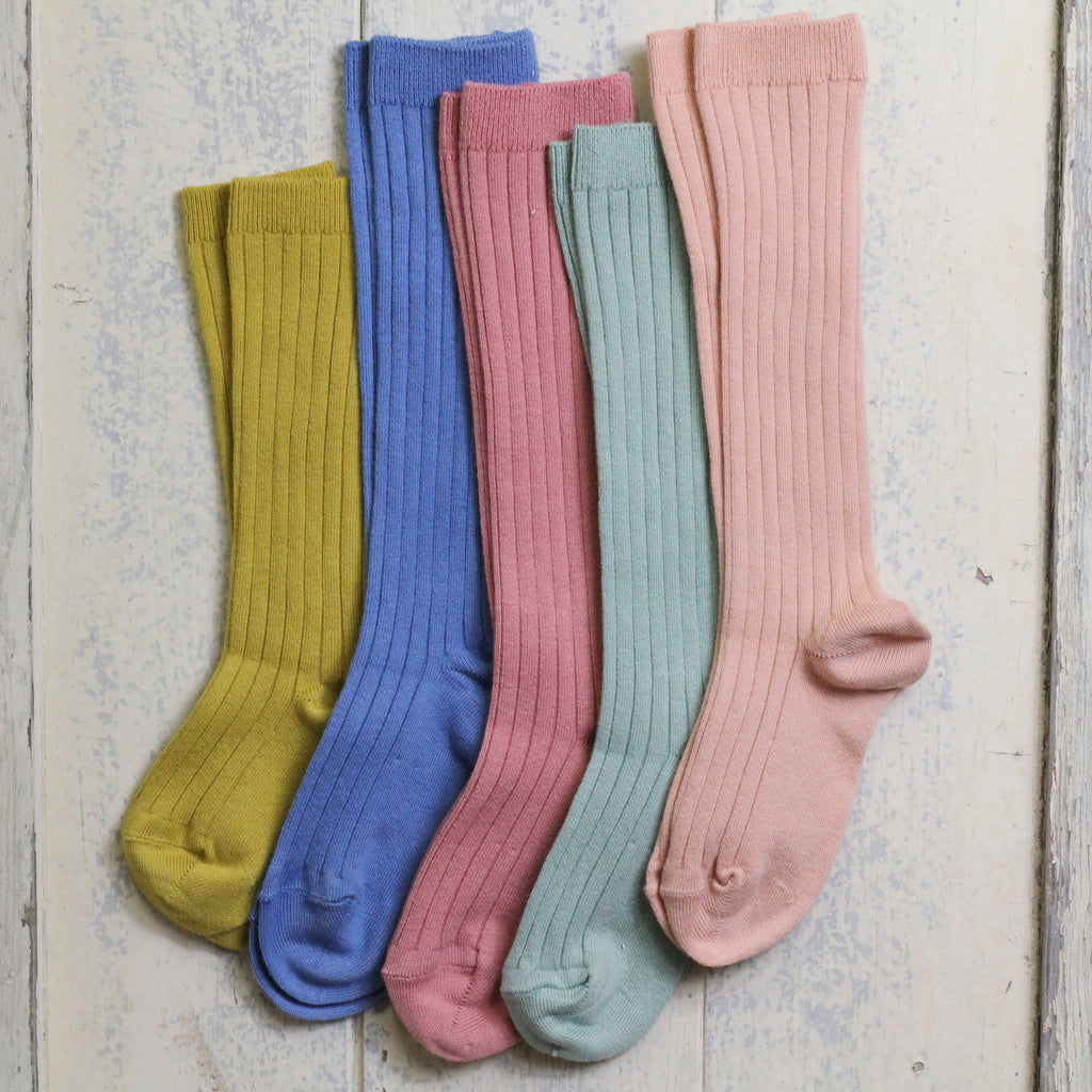Ribbed Knee Socks by Condor - Homeware Store
