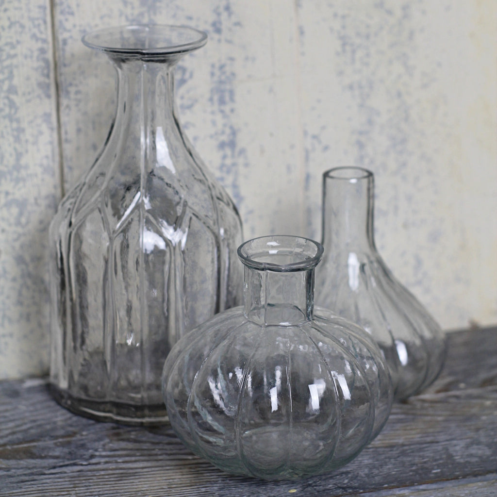 Ribbed Round Vase - [product_Option1 Value] - Homeware Store