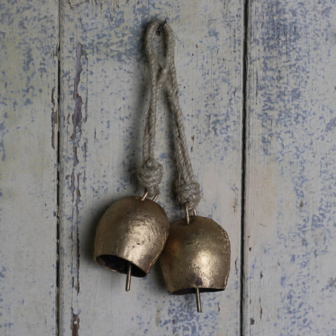 Gold Bell on Rope