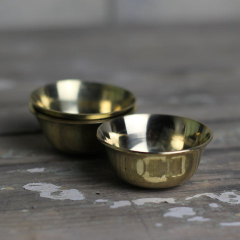 Tiny Gold Bowl