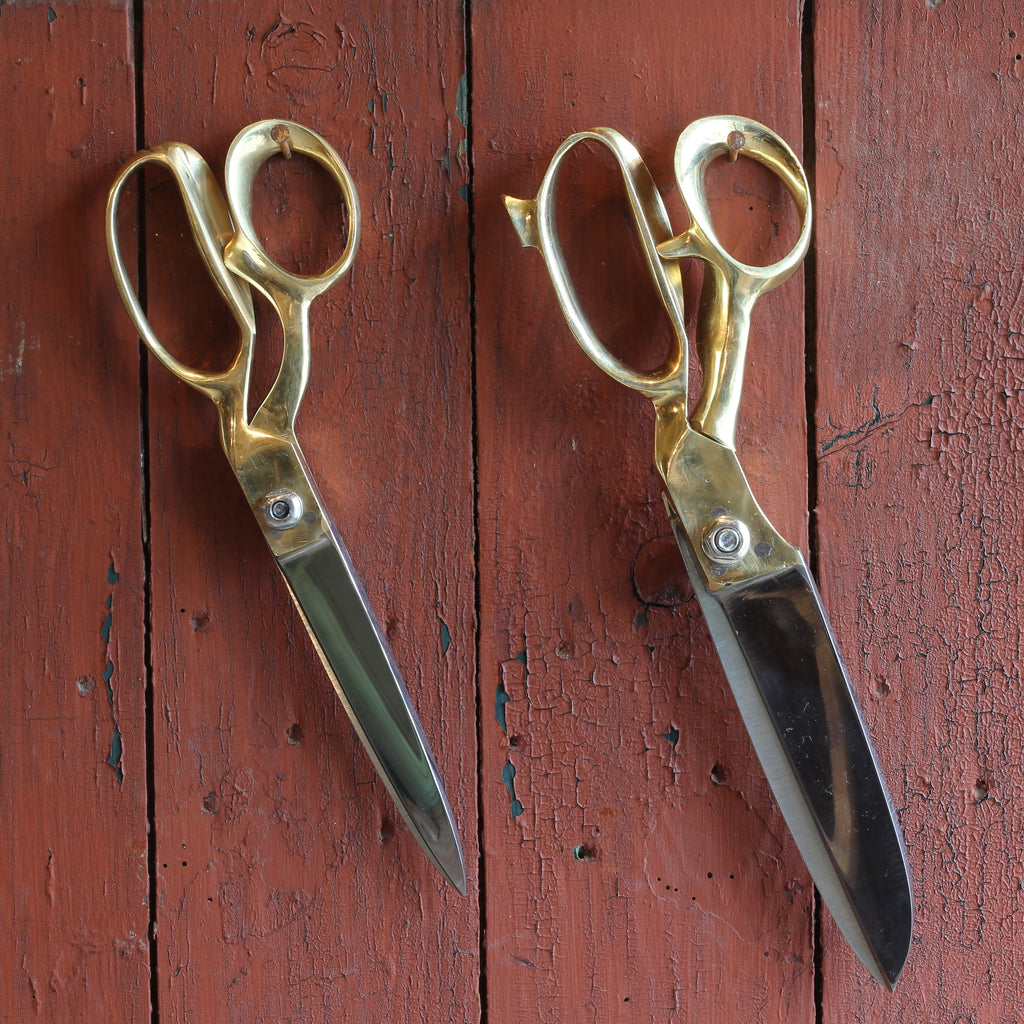 Gold Scissors, 10 Inch - Closet & Botts