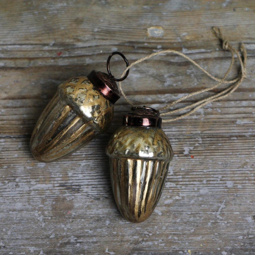 Gold Acorn Decoration - Closet & Botts
