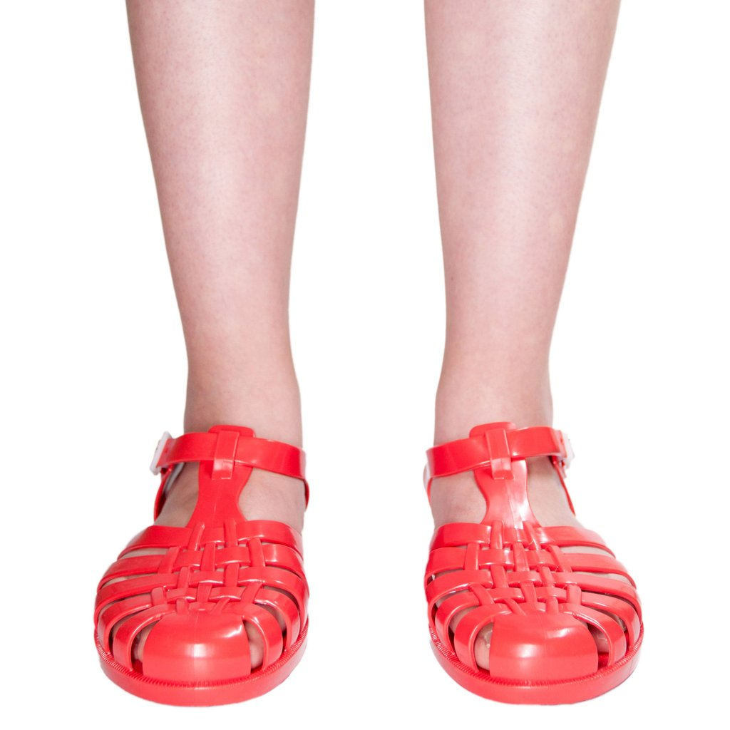 Jelly Shoes, Red