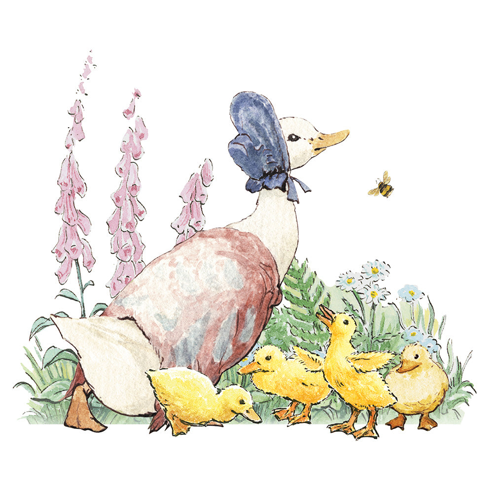 'Jemima Puddleduck' Greeting Card - closetandbotts