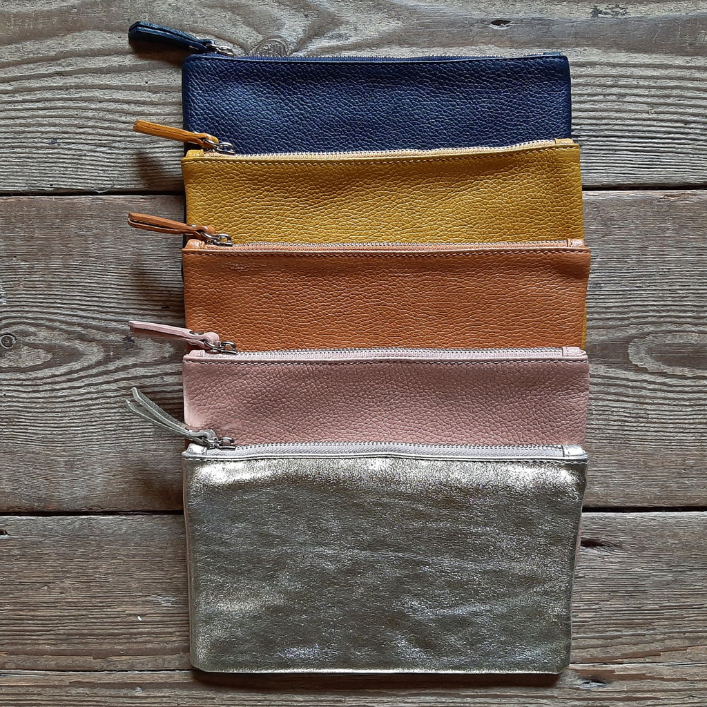 Large Leather Pouch - Closet & Botts