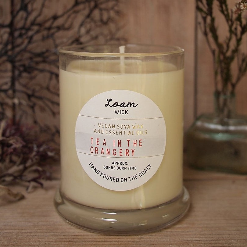 Loam Wick Scented Candle - Closet & Botts