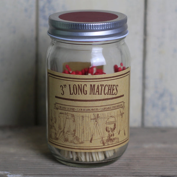 Matches in a Jar