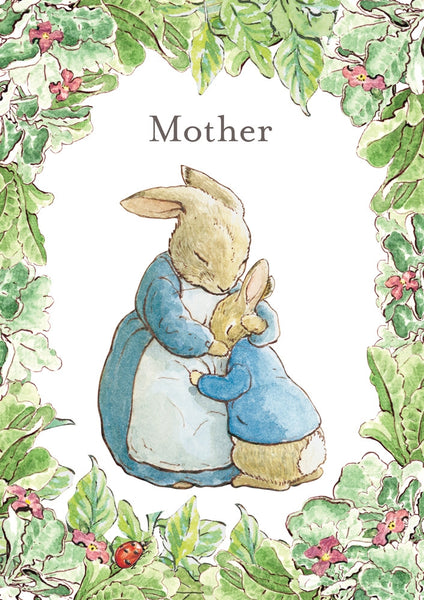 Beatrix Potter Mother's Day Card