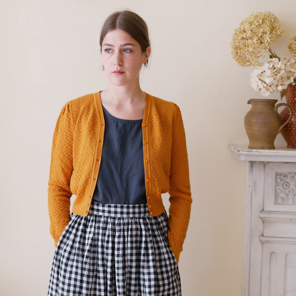 The Delightful Daytime Cardigan by Emmy - Mustard | Gifts for Her