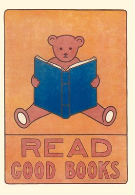 Read Good Books' Greeting Card