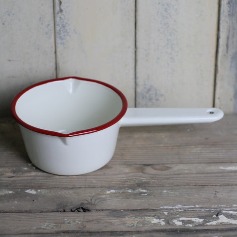 Falcon Saucepan with Red rim