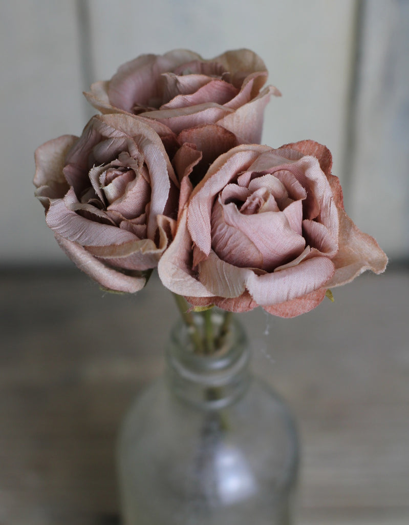 Silk Flowers - Bunch of Roses