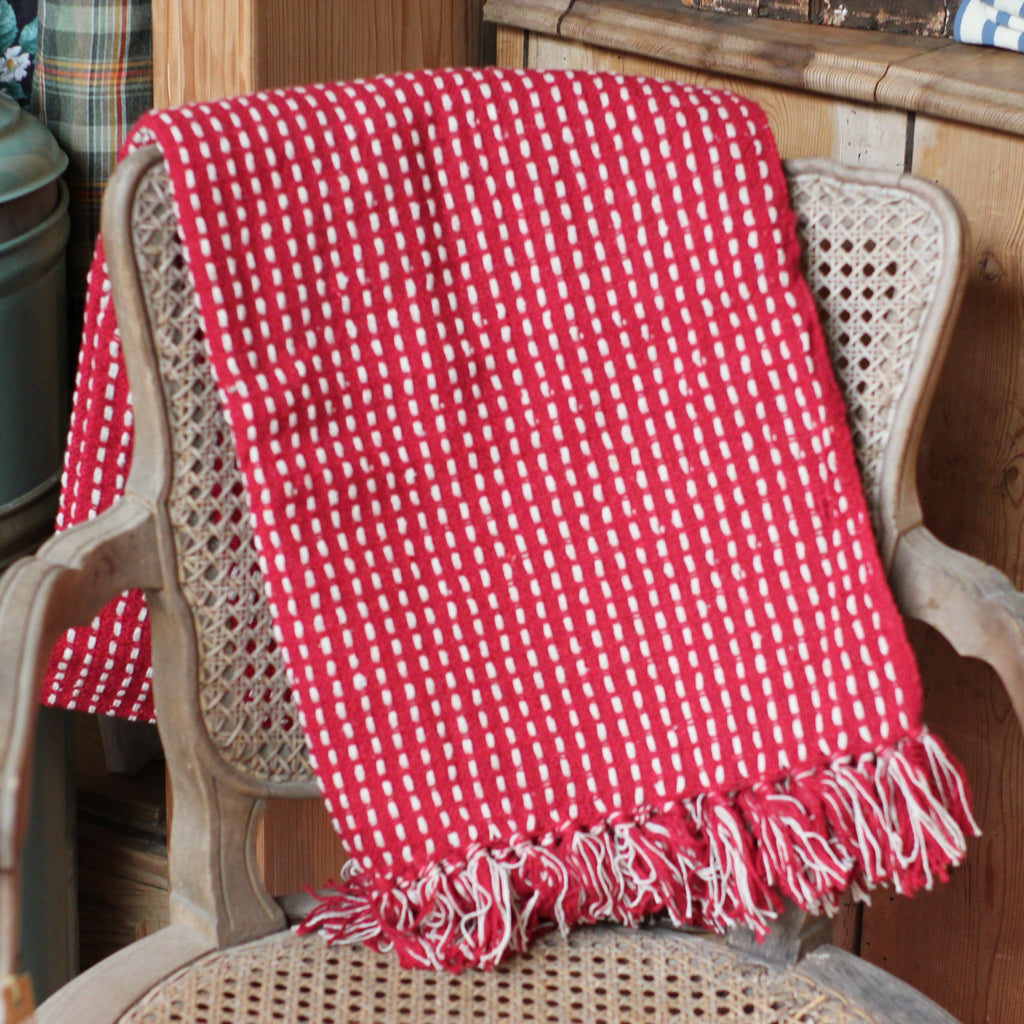 Running Stitch Throw - Closet & Botts