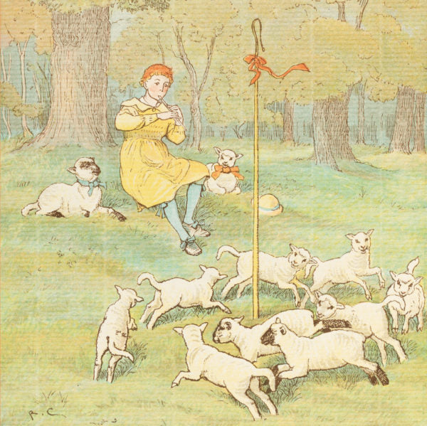 Shepherd Boy Greeting Card - Closet & Botts