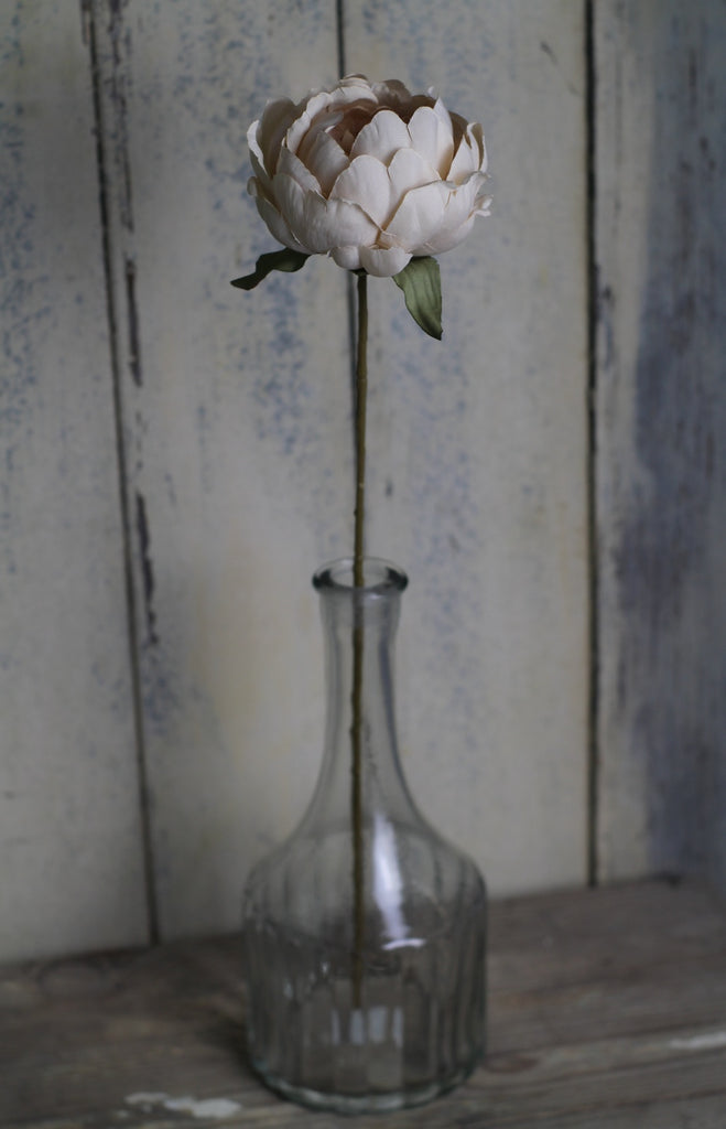 Silk flowers - Single Peony - Closet & Botts