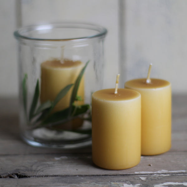 Dipped coloured Candle - Small