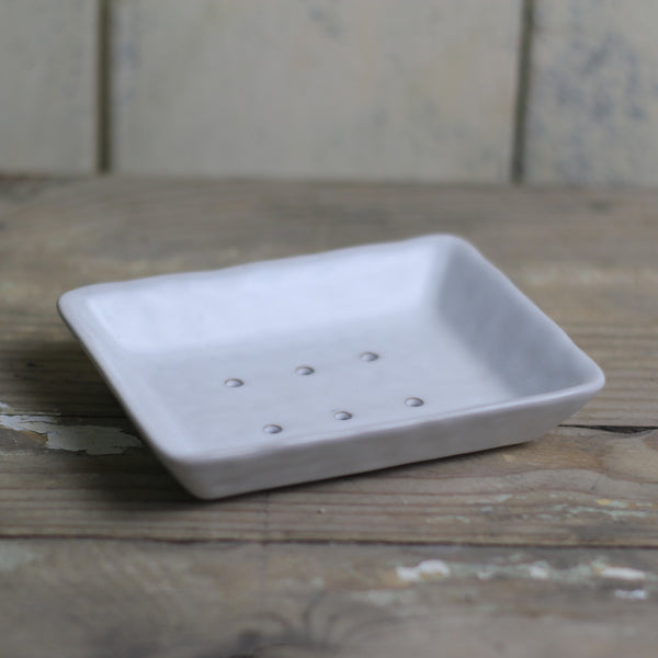 Small Stoneware Soap dish