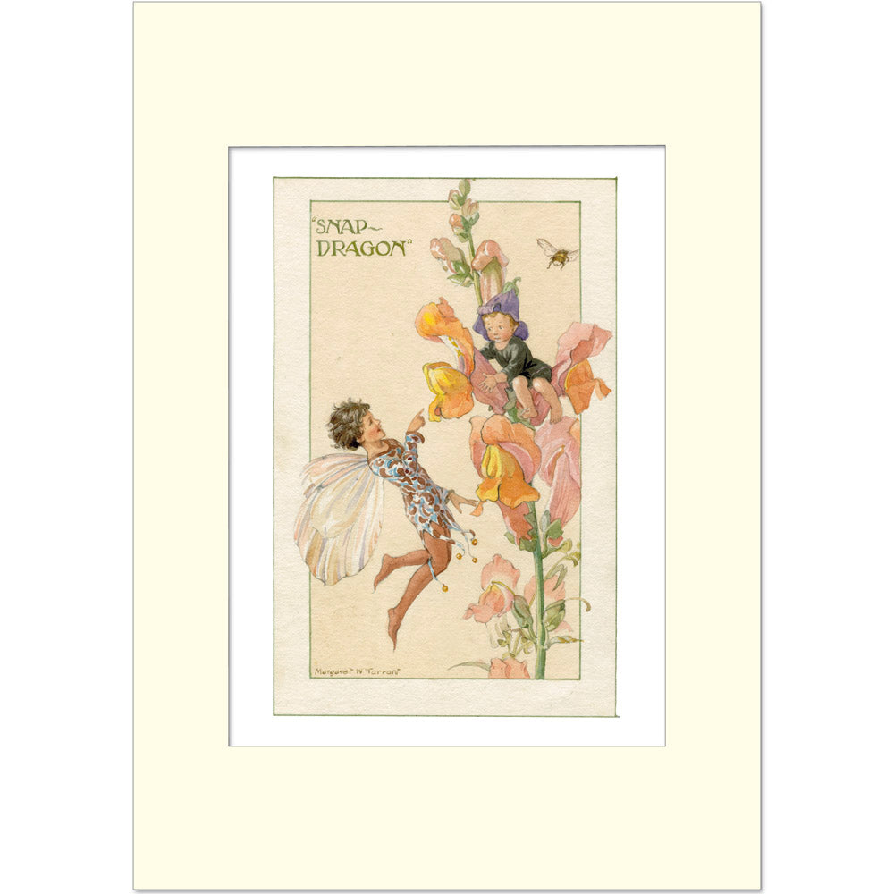 Margaret Tarrant Print - The Snapdragon Fairy - Homeware Store