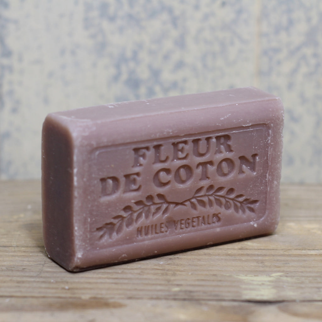 Savon de Marseilles - cotton flower