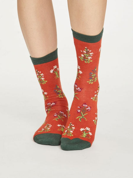 Thought Bamboo Socks, Posy