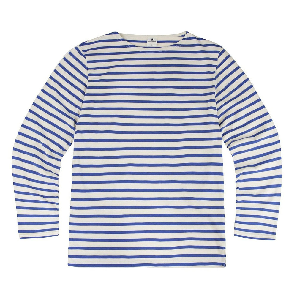 Striped Breton Top - French Blue - closetandbotts