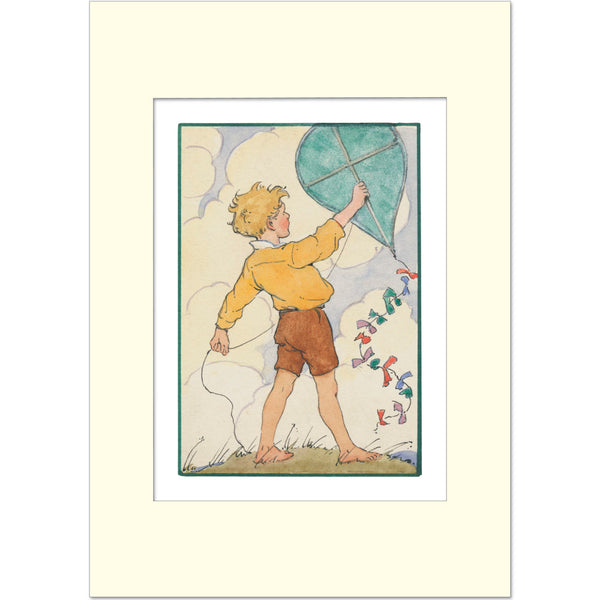 Margaret Tarrant Print - The Kite
