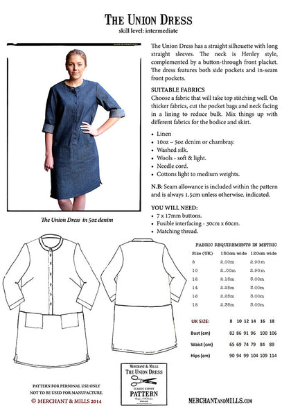 The Union Dress Pattern