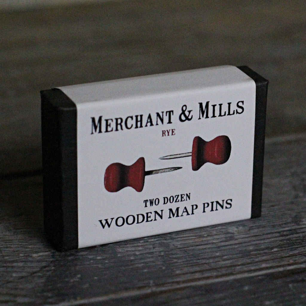 Wooden Map Pins - closetandbotts