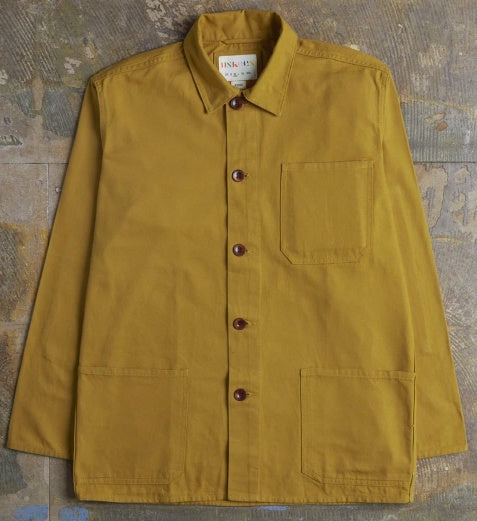 Work Jacket, Mustard - closetandbotts