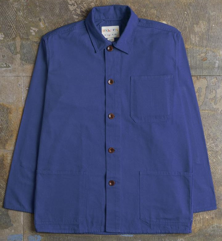 Work Jacket, French Blue - closetandbotts