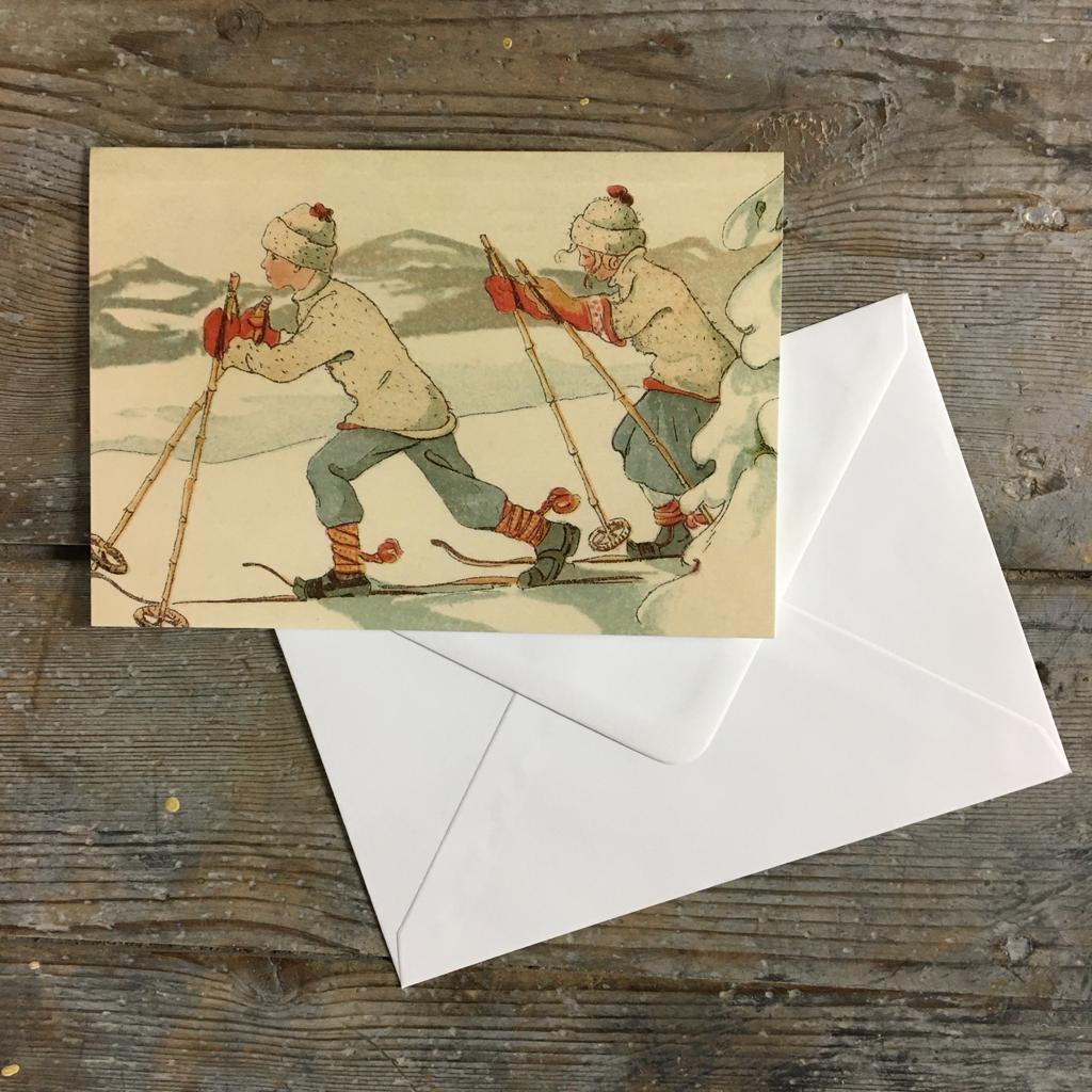 Traditional Christmas card pack - Fresh Country Air - Homeware Store
