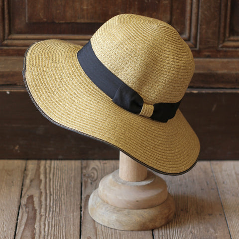 Classic straw hat, perfect for summer