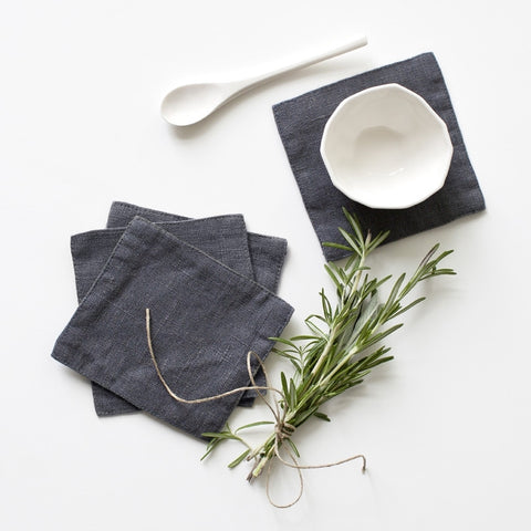 Washed Linen Coasters