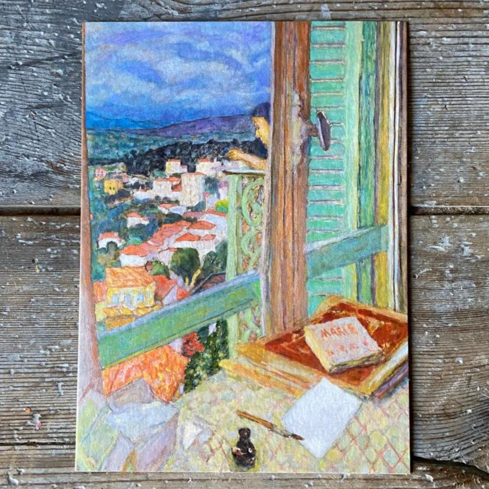 The Window - Greeting card - [product_Option1 Value] - Homeware Store