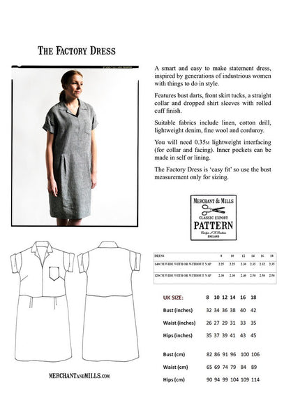 The Factory Dress Pattern