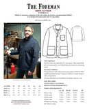 The Foreman Jacket Pattern