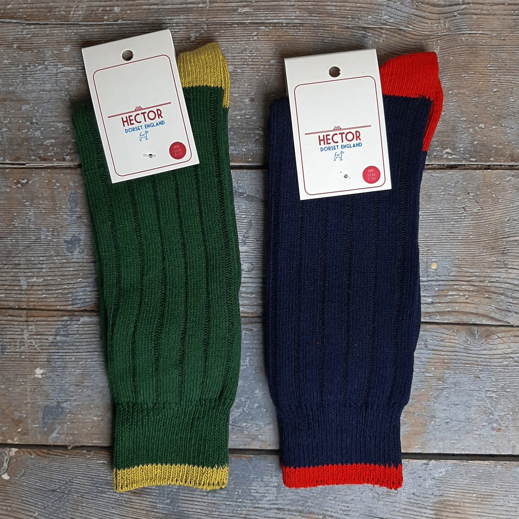 Men's Ribbed Cotton Socks - Closet & Botts