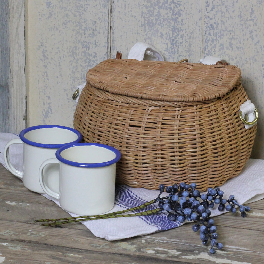 Mini Chari Basket, Natural - Closet & Botts